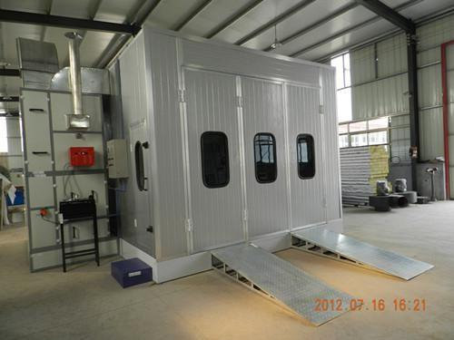 Car Spray Booth - 4M500 - 16 KW