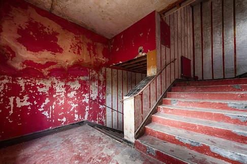 Ritz Cinema Side Stairs