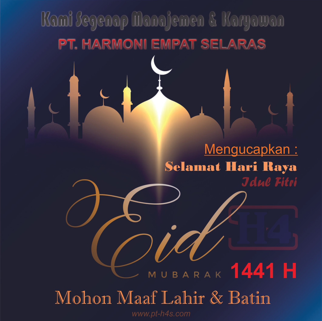 Idul Fitri 2020 | PT. Harmoni Empat Selaras | Tangerang