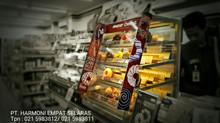 Showcase Donut | Jual Rak Minimarket & Rak Supermarket