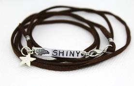 Shiny Wrap Bracelet