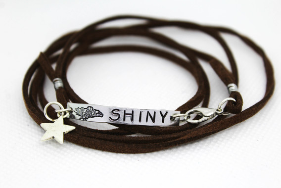 Shiny Wrap Bracelet