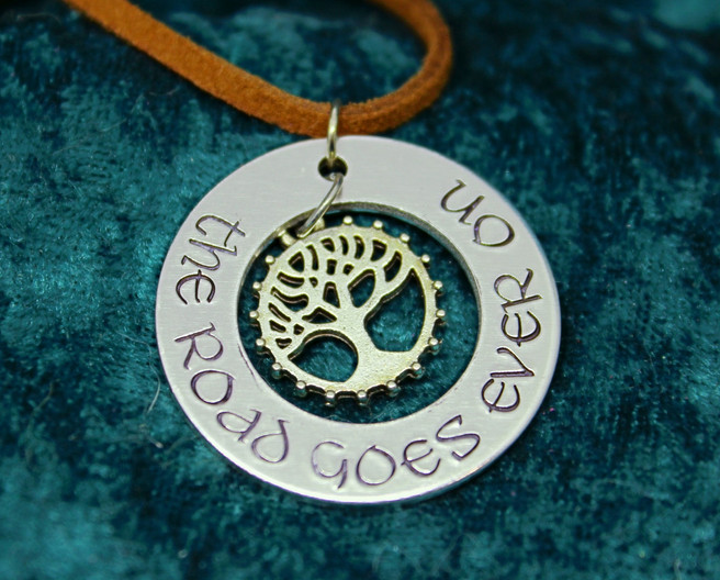 The Road Goes Ever On Necklace