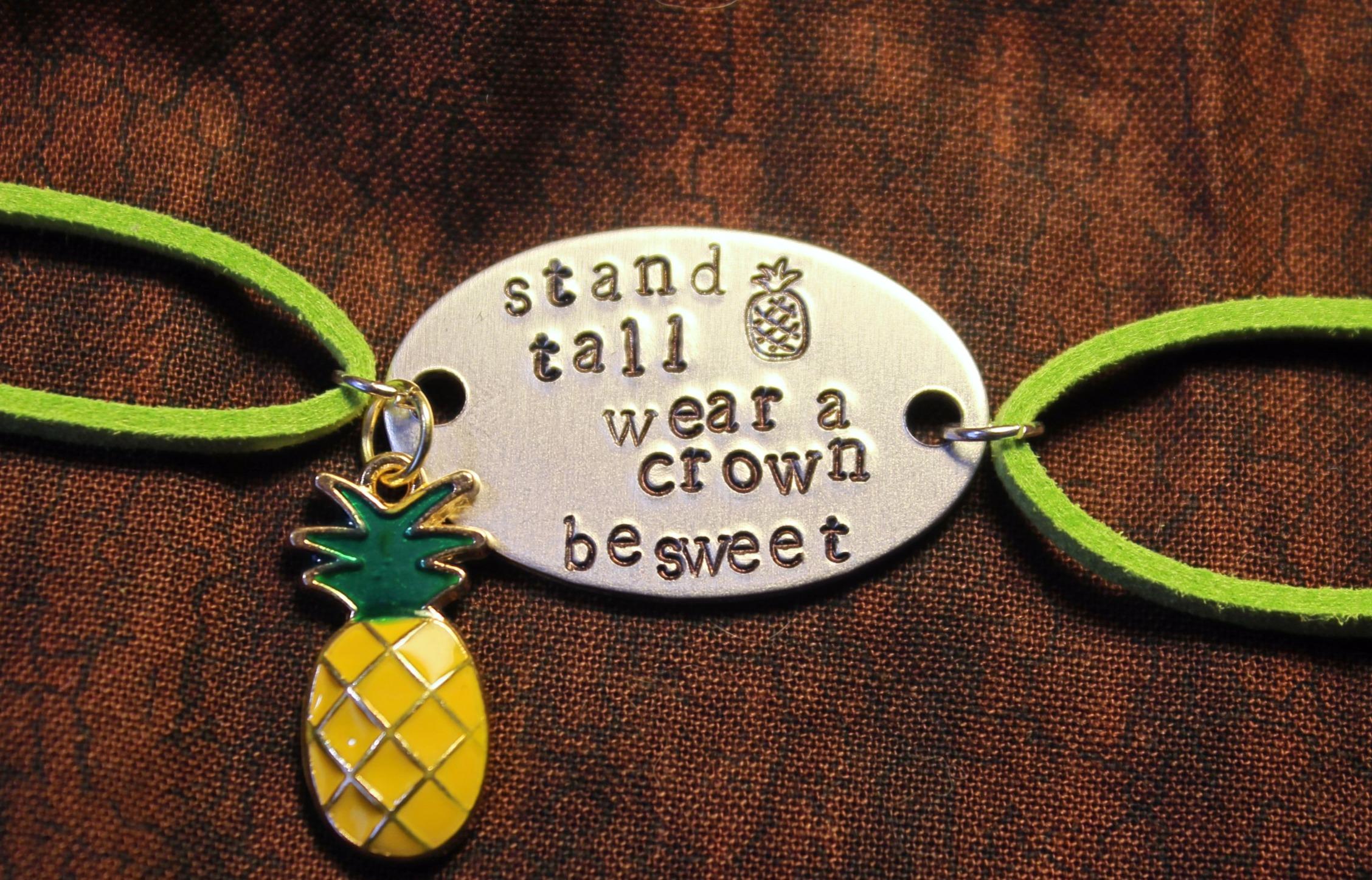 Custom Plate Bracelet