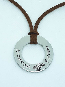 Browncoat Forever Washer Necklace