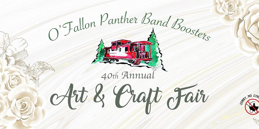 O'Fallon Band Boosters 40th Annual Art and Craft Fair