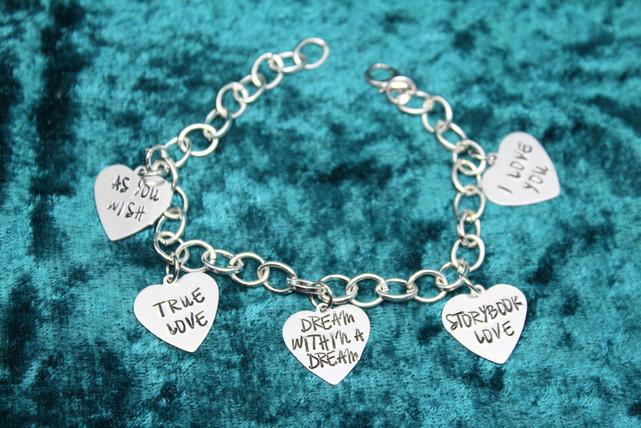 Princess Bride Charm Bracelet