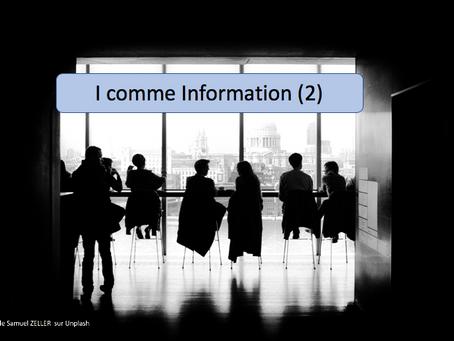 I comme Information (2)