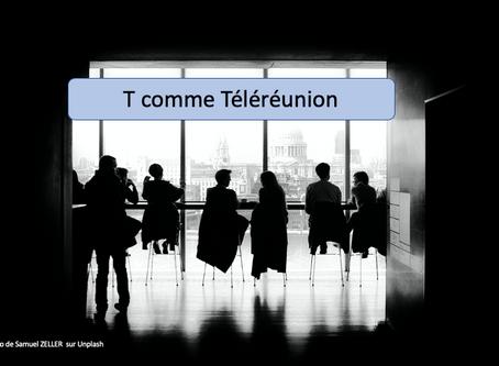 T comme Téléréunions