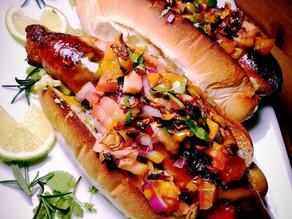 Loaded Chorizo Hot Dogs