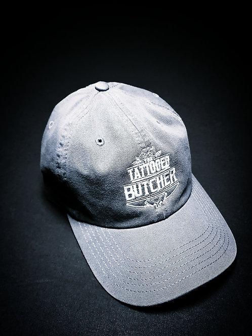 Tattooed Butcher petrol blue hat