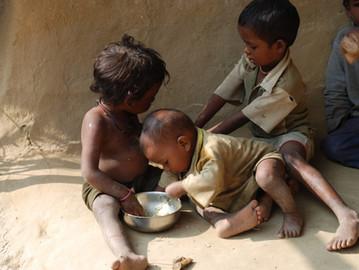 A face da fome