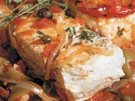 Veracruz-Style Fish