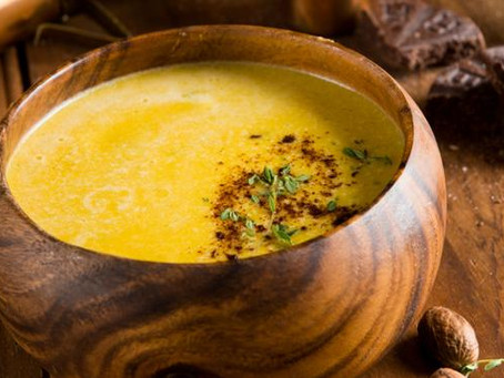 Roasted Oaxacan Spiced Orange and Butternut Squash Soup