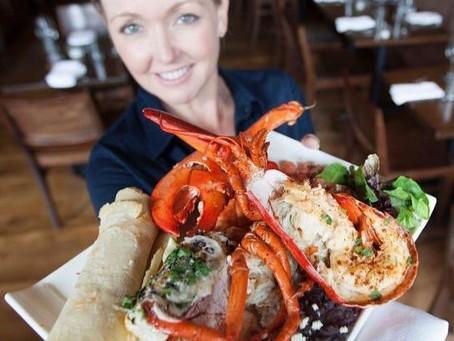 Puerto Nuevo Lobster Taco                Taco De Langosta De Puerto Nuevo