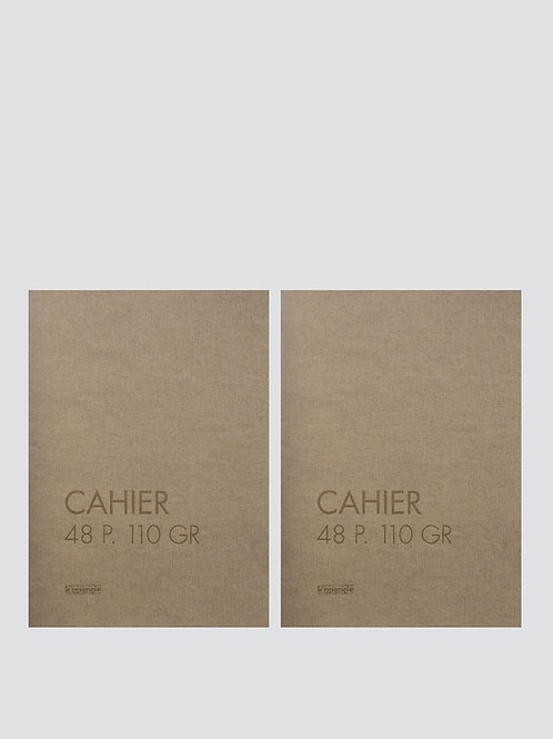 cahier souples A5+ Pages Blanches