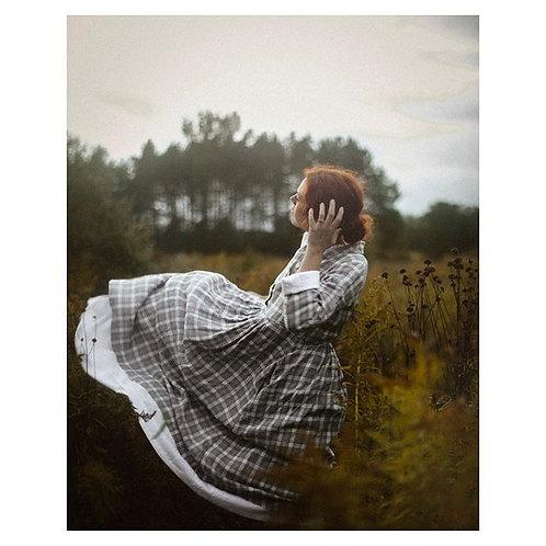 Robe Armony-Grace 100%lin écossais