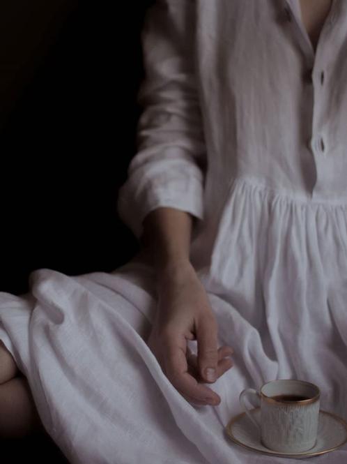 Robe Armony-Grace 100% lin