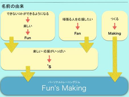 Fun's Making 〜名前の由来〜