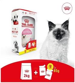 Royal Canin - Kitten Mix Feeding Box (2kg + 2 Free Pouches)