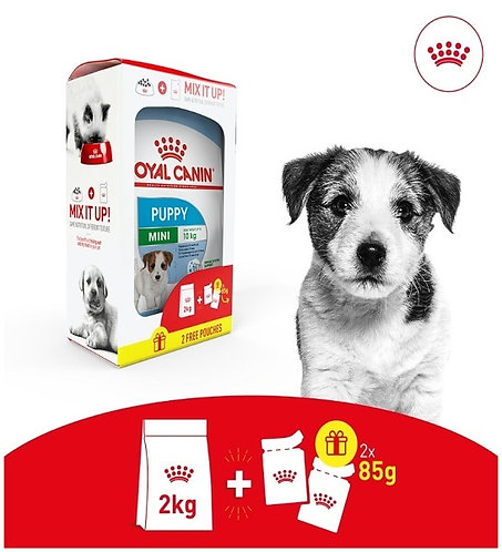 Royal Canin - Puppy Mix Feeding Box (2Kg + 2 Free Pouches)