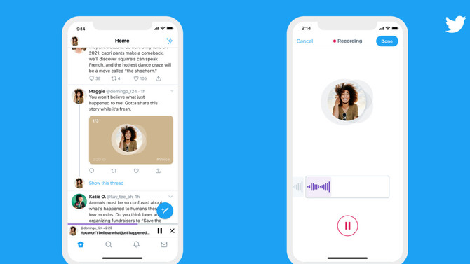 TWITTER BEGINS ROLLING OUT AUDIO TWEETS FOR IOS