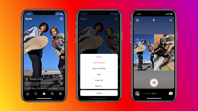Instagram Officially Launches Remix Option for Reels