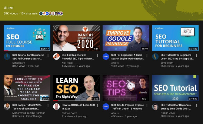 YOUTUBE LAUNCHES NEW HASHTAG SEARCH RESULTS PAGES