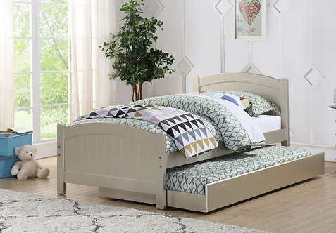 F9276   TWIN BED W/TRUNDLE SLIVER