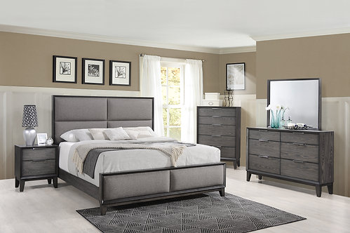 B6570 Florian Bedroom Suite, King or Queen
