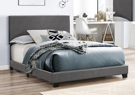 5271 Erin Grey Leather Bedframe