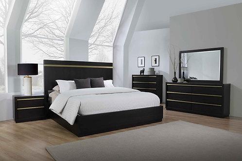 B8220 Lastra Storage Bedroom Suite, King or Queen