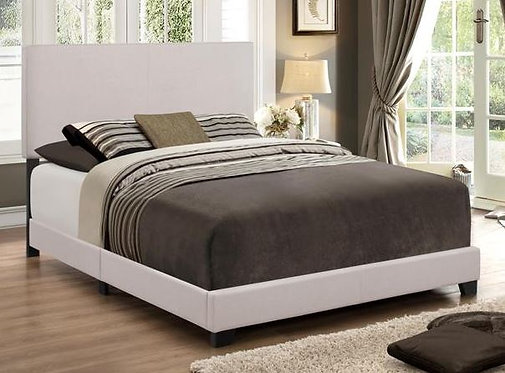 5271 Erin Khaki Leather Bedframe