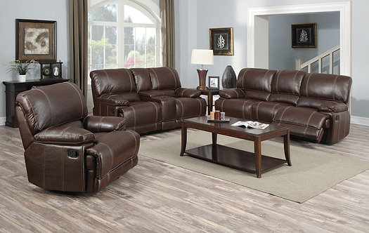 Michael Motion Recliners 3pc Set