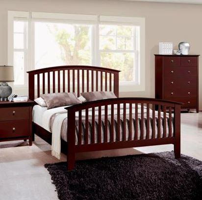 B7550 Lawson Cherry Twin Size Bedframe