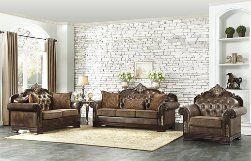 9815 | Elegant Sofa, Love & Chair