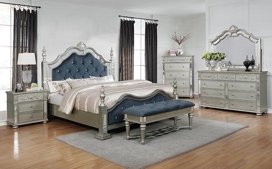 B7660 Sterling Bedroom Suite, King or Queen