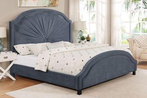 5018 Annette Grey Queen Bedframe