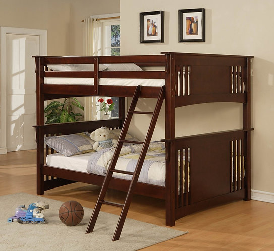 FF602 Full/Full Bunk Bed