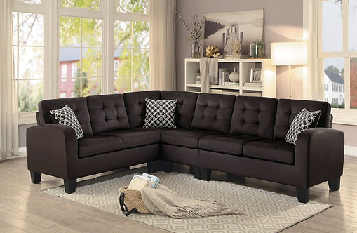 8202CH  | Chocolate Reversible Sectional