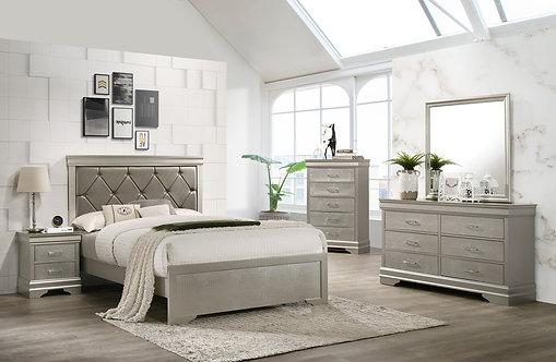 B6910 Amalia Bedroom Suite, King or Queen