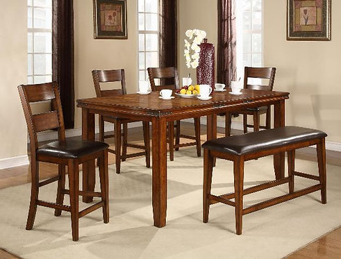 2701 Figaro 6Pc. Counter Height Dining Table Set