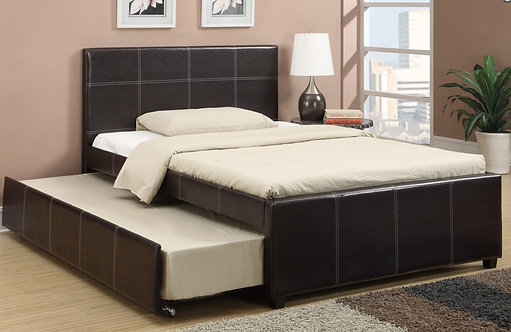 F9214F| FULL BED W/TRUNDLE