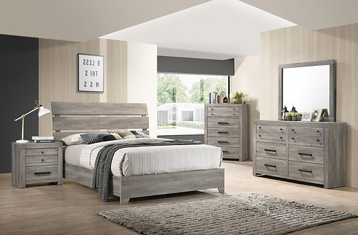 B5520 Tundra Bedroom Suite, King or Queen