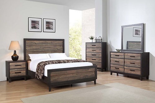 B8270 Tacoma Two-Tone Bedroom Suite, King, Queen, Full or Twin