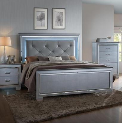 B7100 Lillian  Queen Size Bedframe