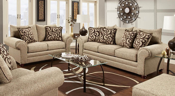 Washington 2120 Sofa & Love Seat