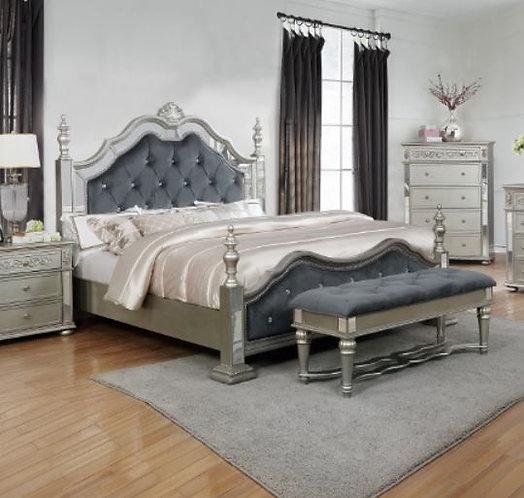 B7660 Sterling King Size Bedframe