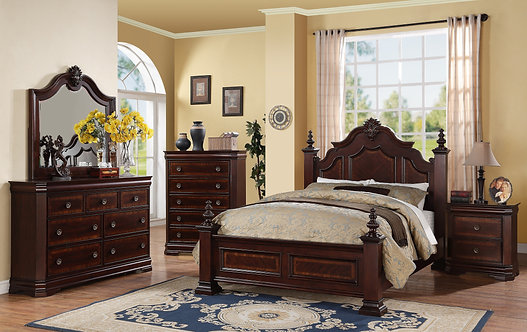 B8300 Charlotte Bedroom Suite, King or Queen