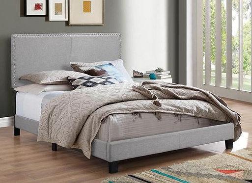 5271 Erin Grey Fabric Bedframe